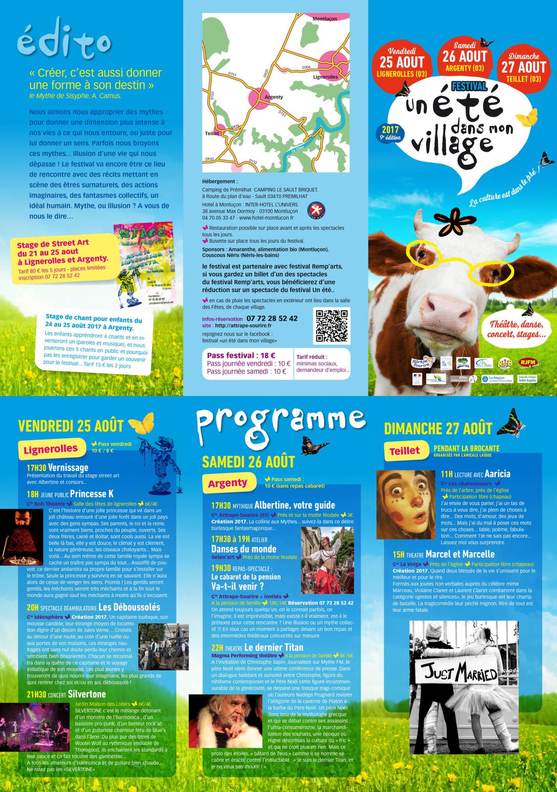 """Neuvième édition du Festival """"Un été dans mon Village"""""""