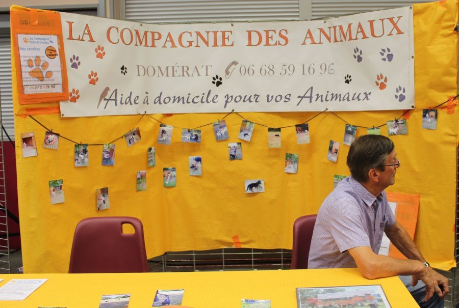Cette année encore les associations domératoises étaient présentes en nombre au centre Albert Poncet.