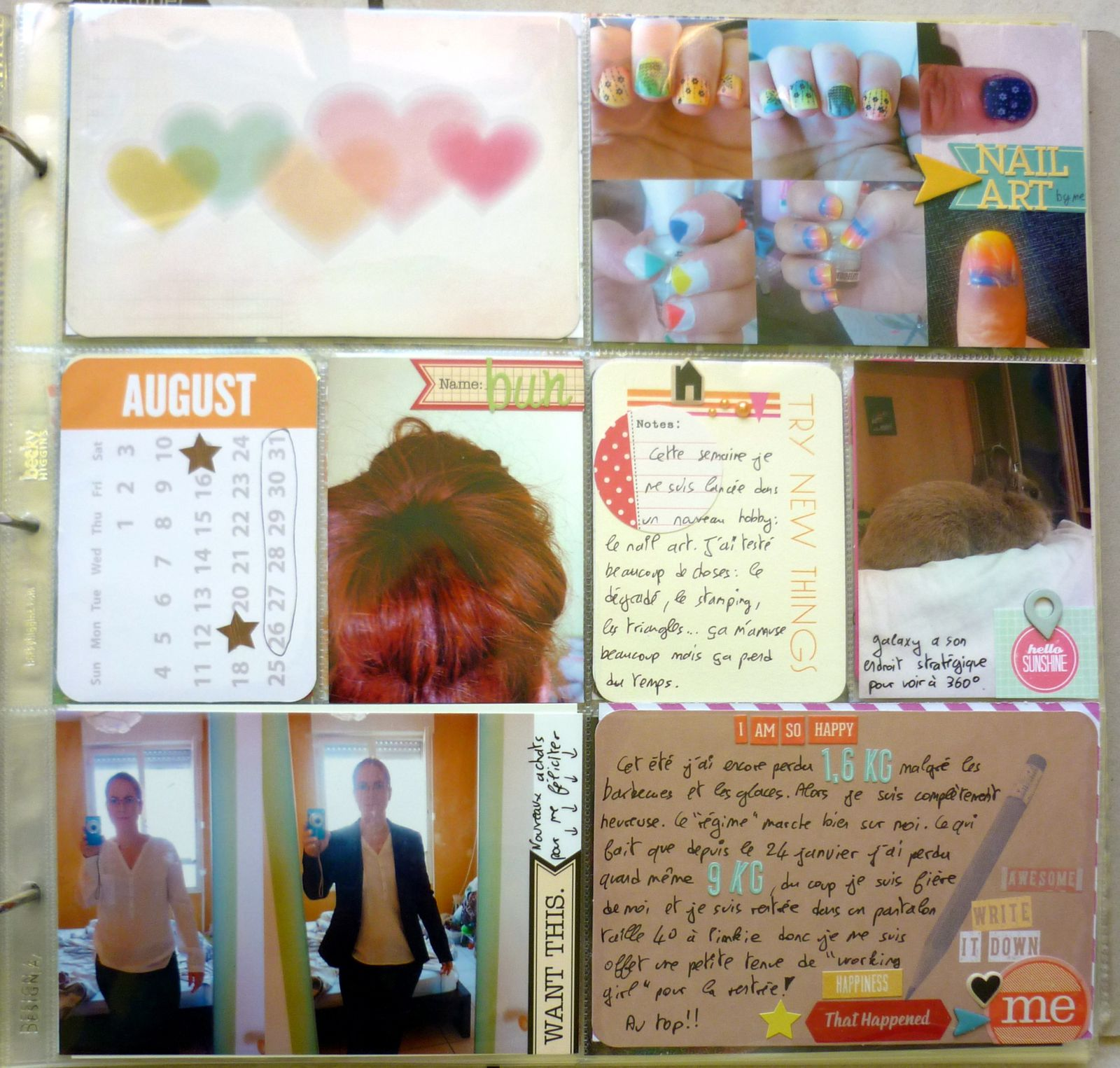 Project life : semaine 35
