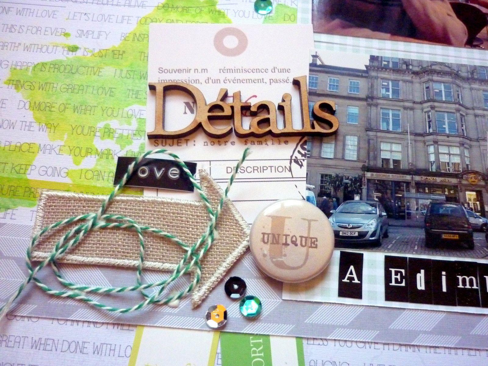 details à Edimbourg