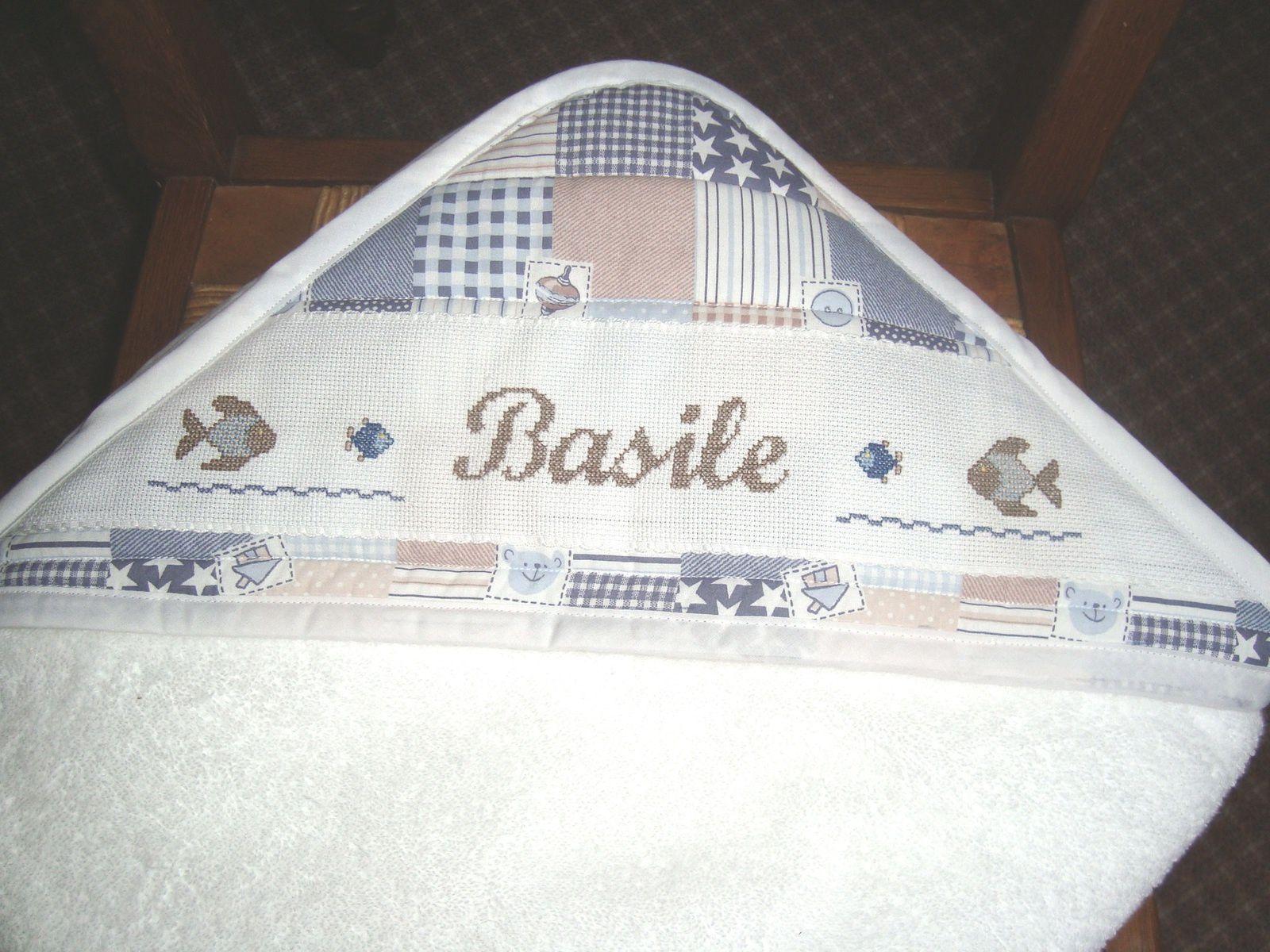 Sortie de bain pour Basile