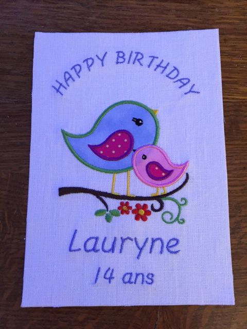 Bon anniversaire Lauryne !