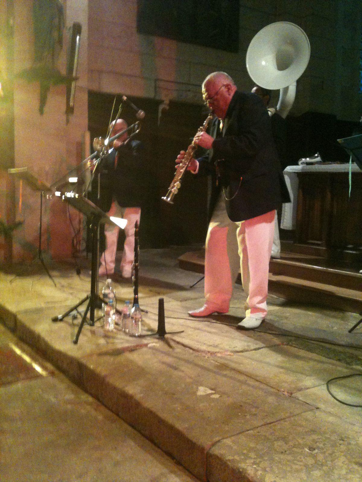 Concert jazz a l'église de la Bachellerie