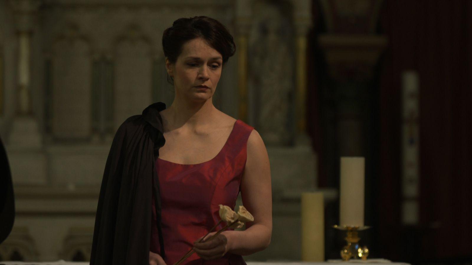 Marion Sicre dans Pauline Viardot, élève de Liszt - mis en scène d'Antoine Campo - Eglise Saint-Germain Lès Corbeil le 8 mars 2014 - Journée de la Femme
