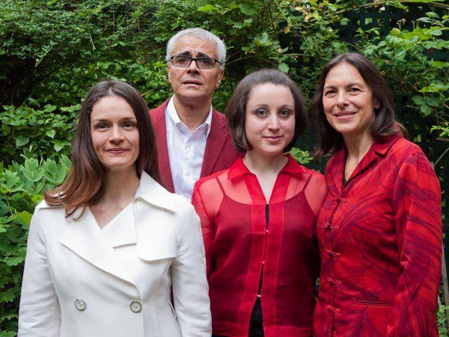 Marion Sicre et l'équipe du Spectacle Pauline Viardot, Antoine Campo, Marie Vermeulin et Valérie Jeannet
