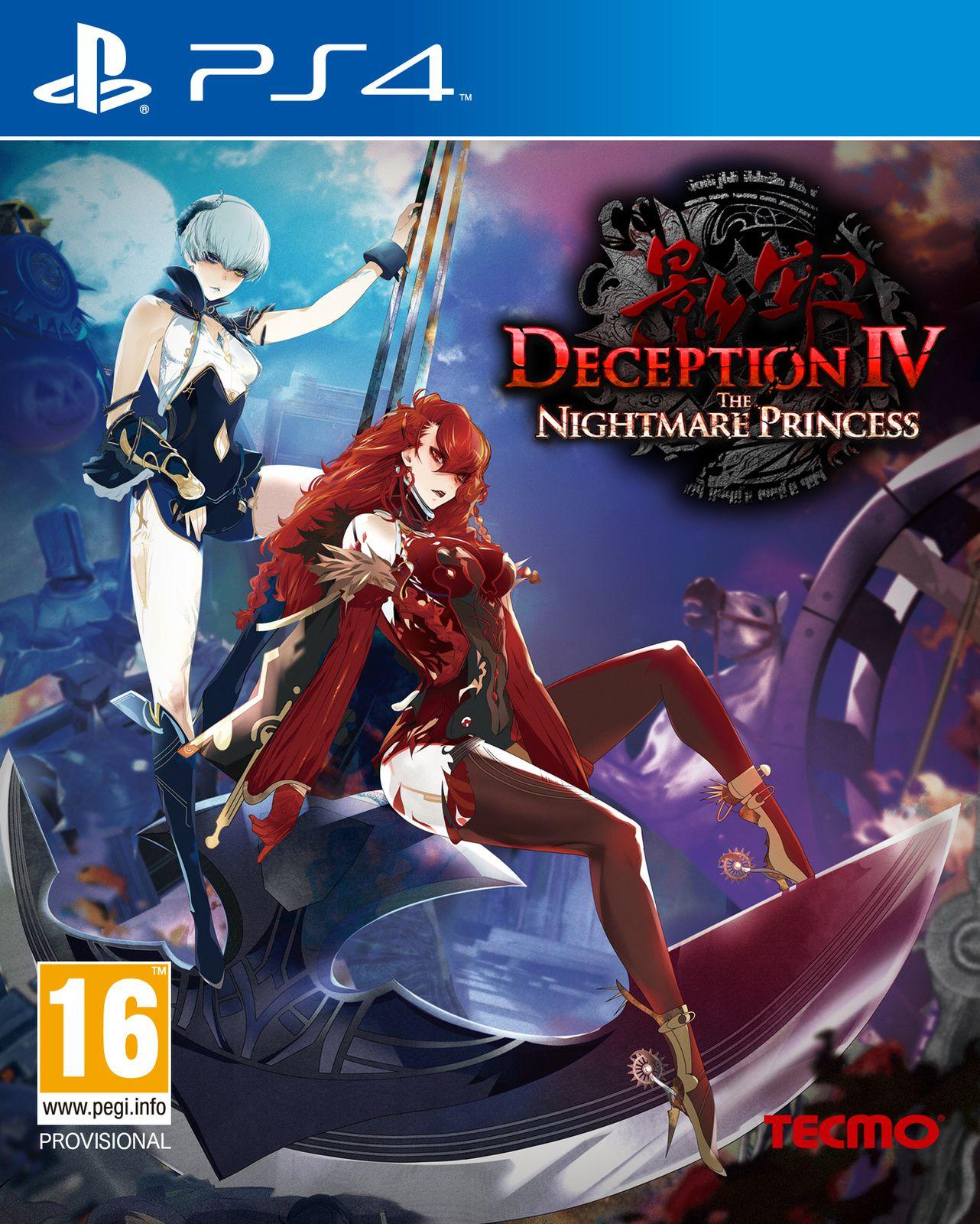 TEST de DECEPTION IV THE NIGHTMARE PRINCESS (sur PS4): attention ça va couper...