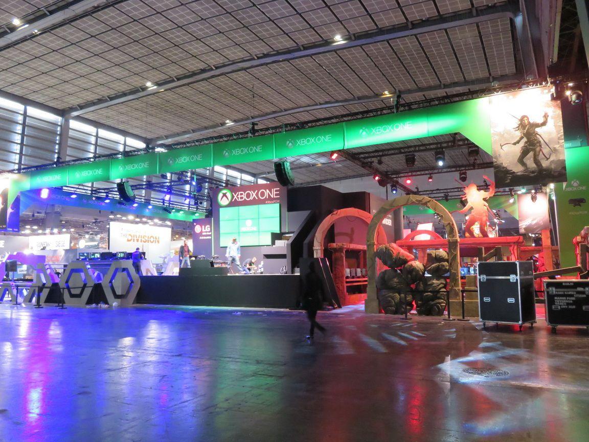 PARIS GAMES WEEK 2015: Le STAND XBOX et ses jeux