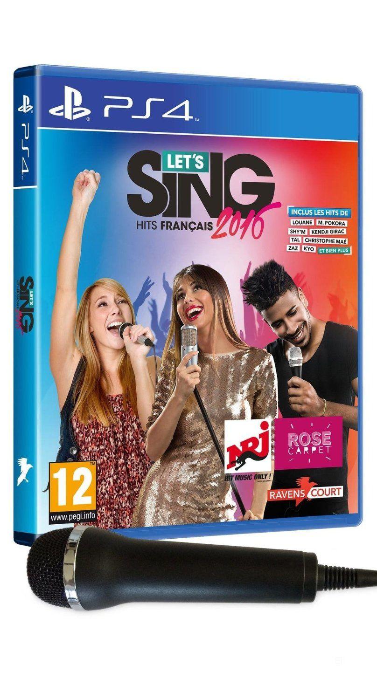 TEST de LET'S SING 2016 français et international (sur PS4): et tu chantes, chantes, chantes...