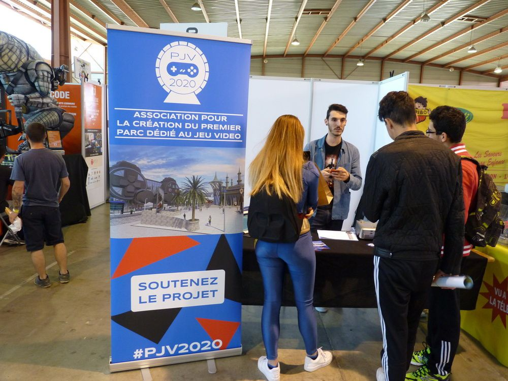 Le stand PJV 2020