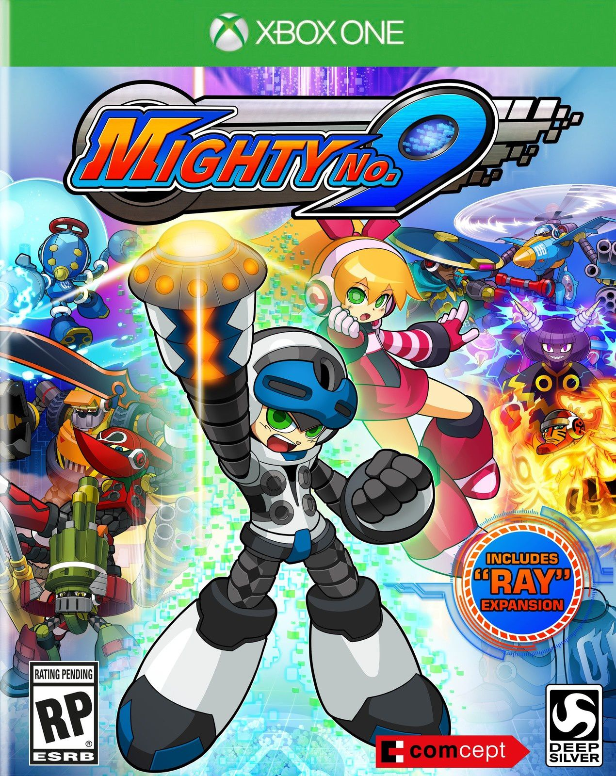 TEST de MIGHTY No9 (sur XBOX ONE): il rate la plateforme...