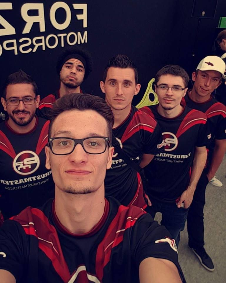 La team BAM e-Sport