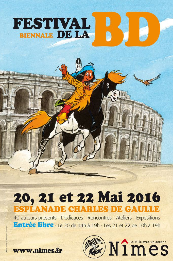 [BANDE DESSINEE] SALON EUROPEEN DE LA BD 2016 à NIMES, nouvelle version