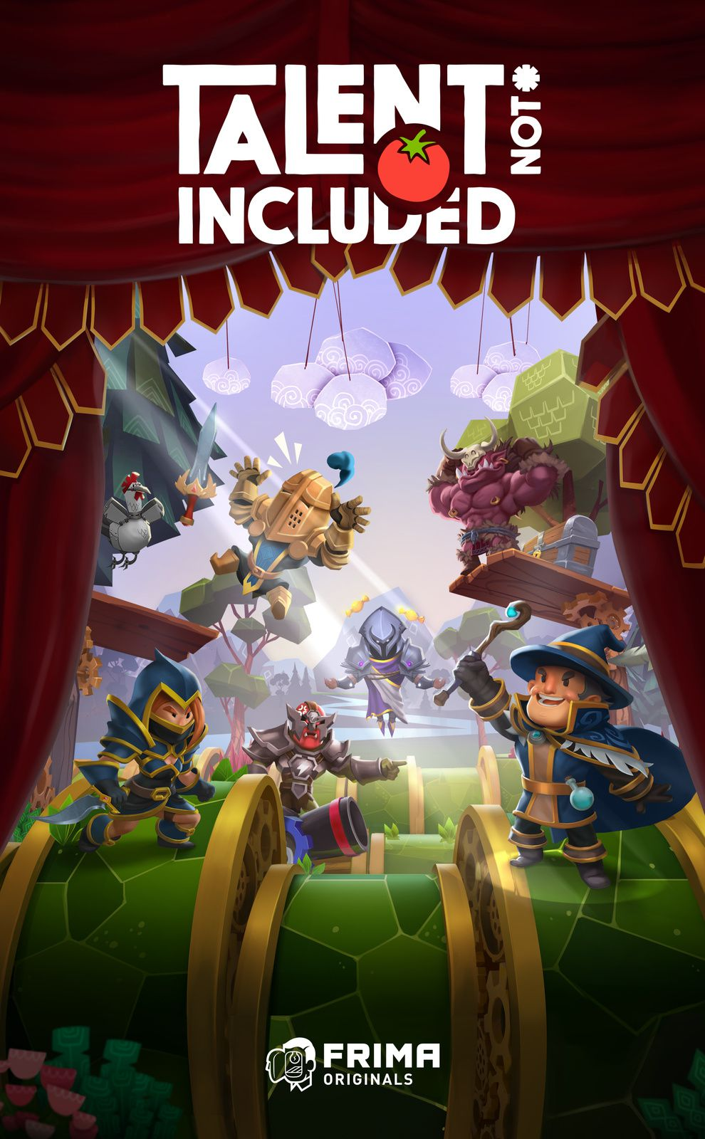 TEST de TALENT NOT INCLUDED (sur PC): un petit air de PUPPETEER