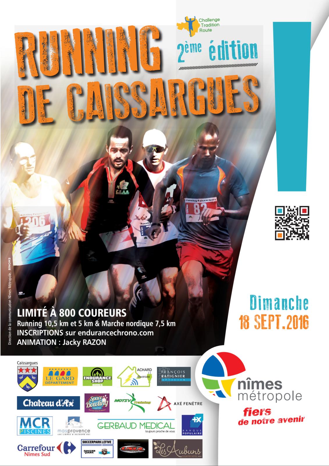 COMPTE-RENDU de la course RUNNING DE CAISSARGUES 2ème édition