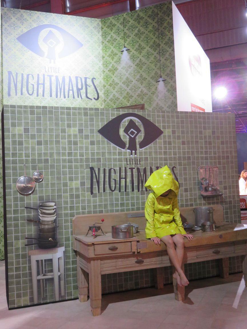 Les personnages de Little Nightmares.