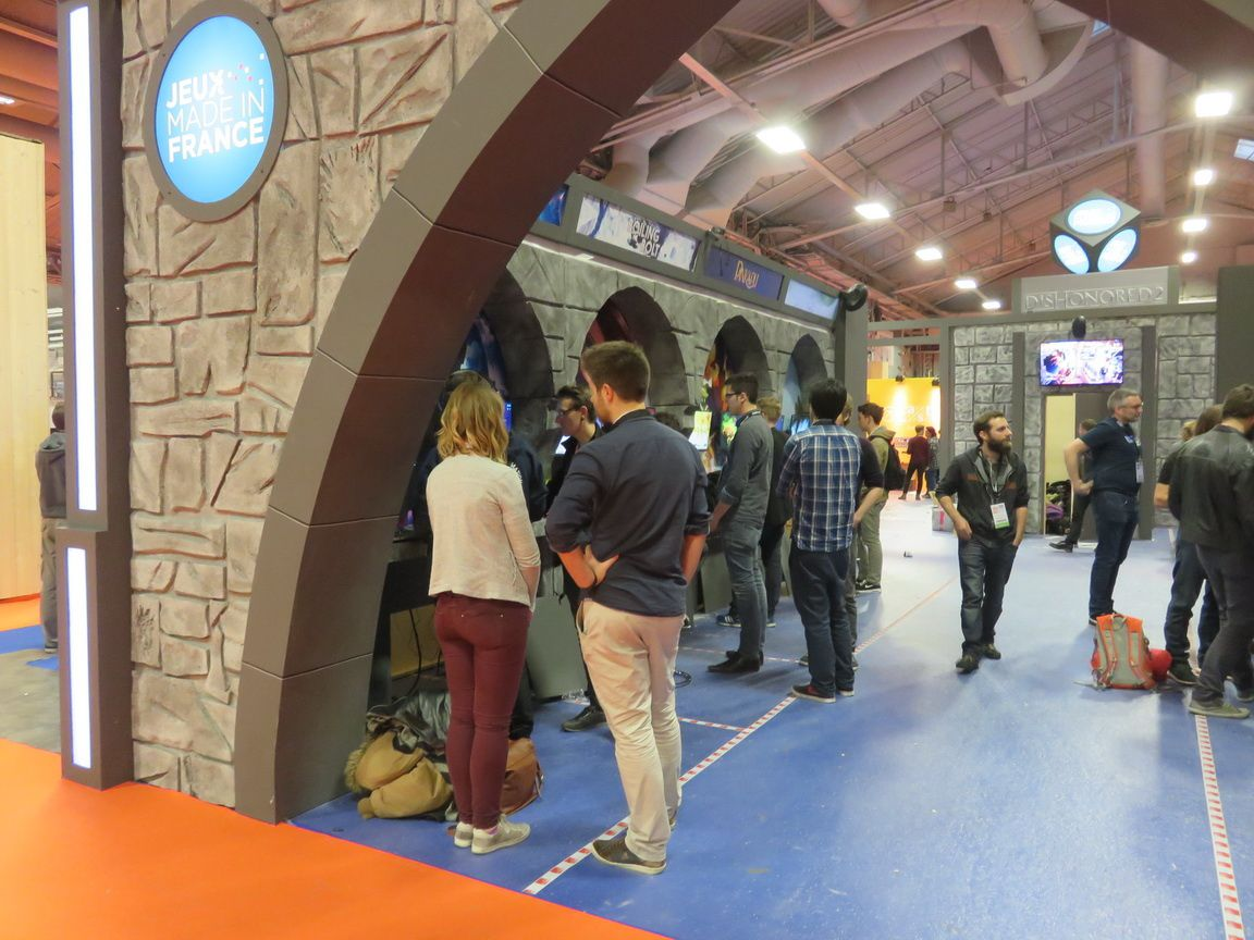 paris games week 2016 : le stand jeux made in france un bel avenir