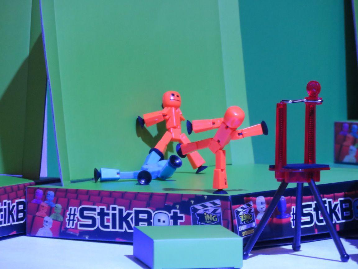 Les animations sur le stand avec les partenaires de Game One
