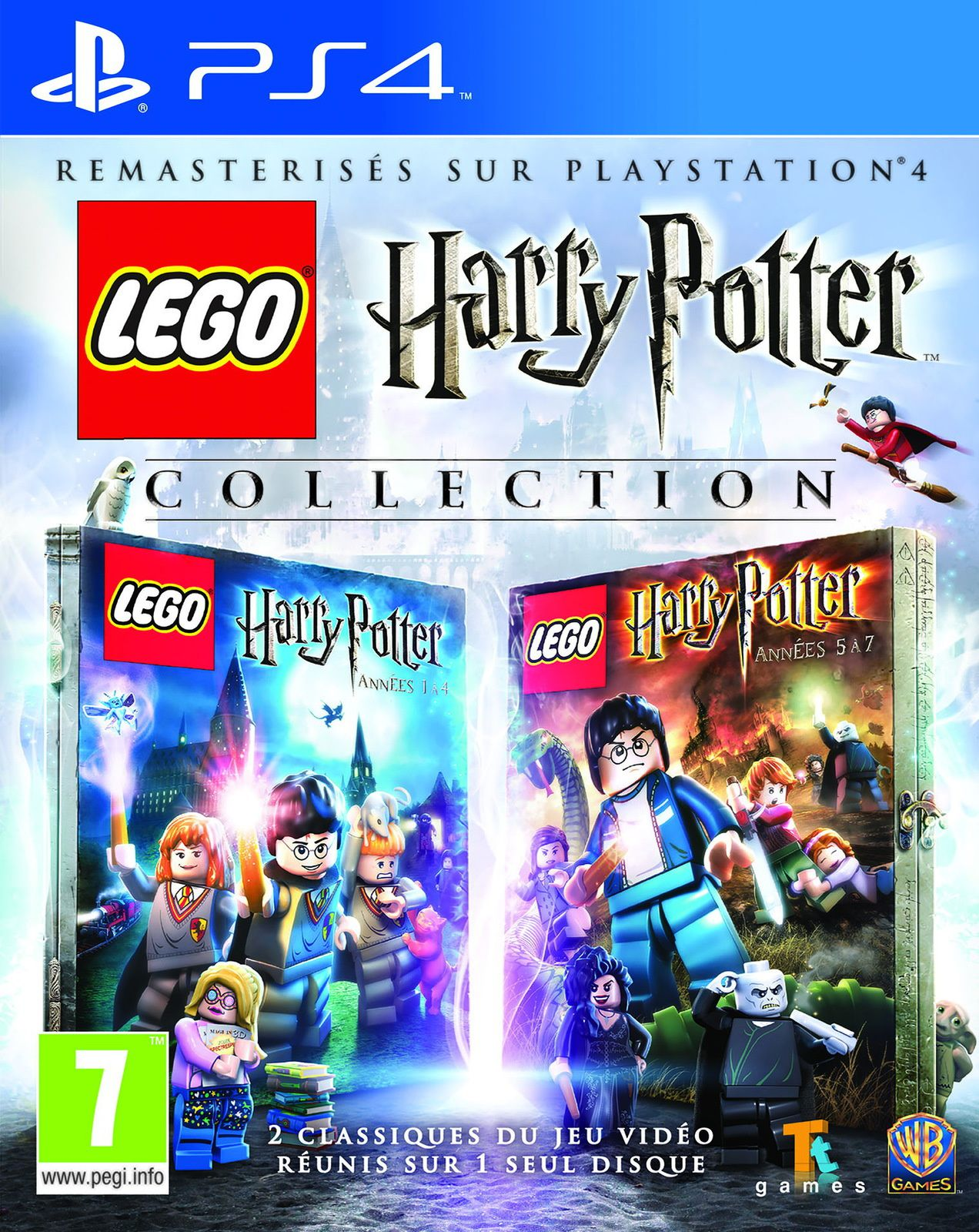 TEST de LEGO HARRY POTTER COLLECTION (sur PS4): Copies conformes