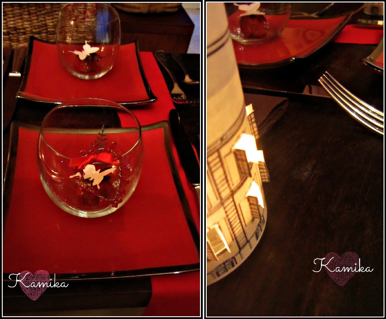 Table saint Valentin # 40