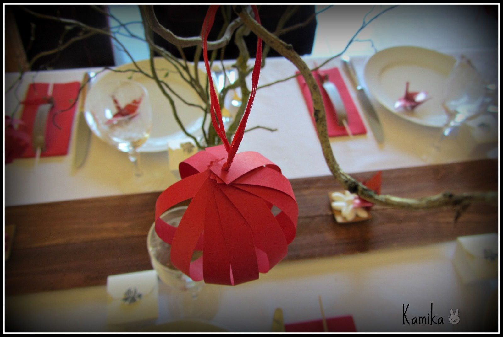 "Table ""voyage au Japon"" # 43"