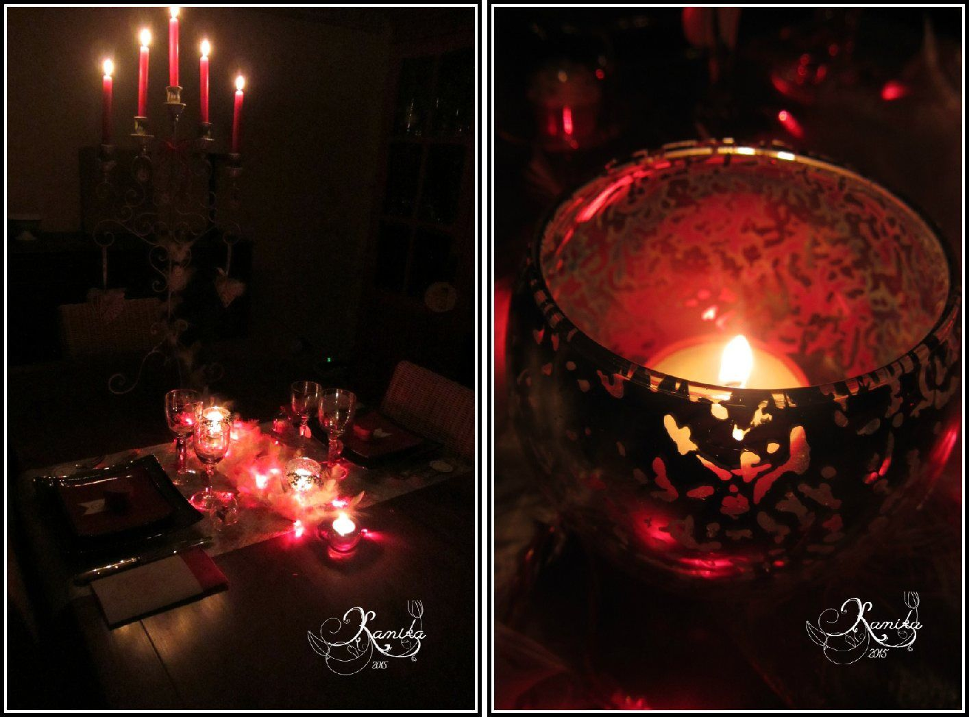 Table LOVE Saint Valentin # 45