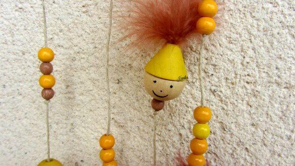 Un rideau de perles