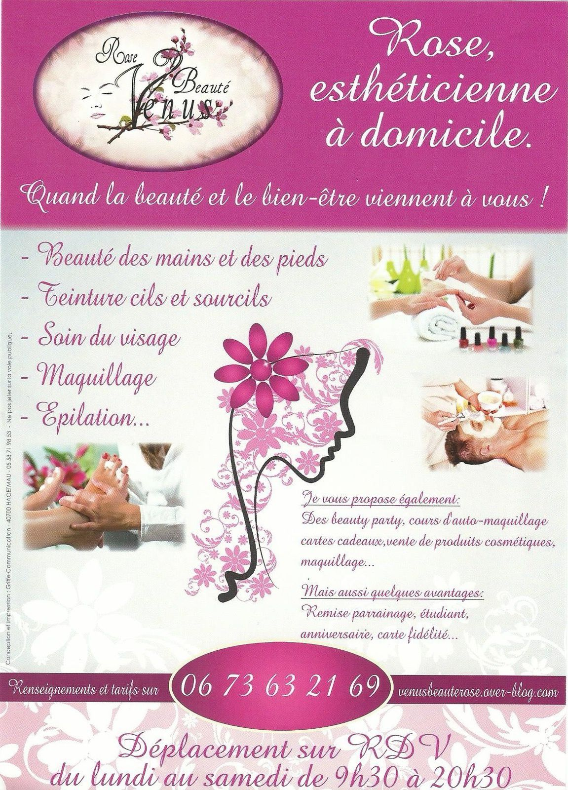 estheticienne a domicile la reunion