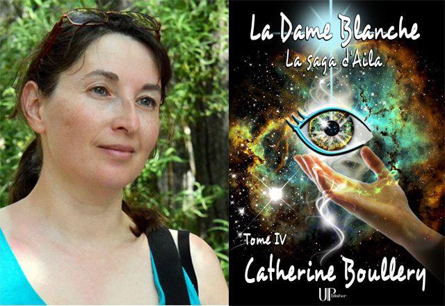 Catherine Boullery pour son interview par IDBOOX lors de la sortie du 4e tome de sa saga de fantasy : La Dame Blanche