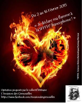Opération #jedeclaremaflamme à Catherine Boullery - Fantasy