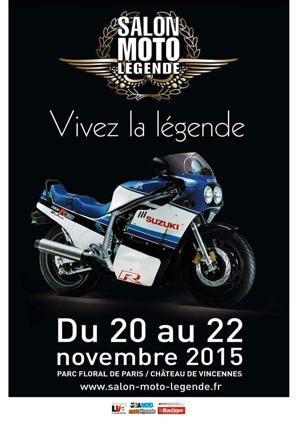 Salon de moto de l gende c 39 est ce weekend porte de for Salon a paris ce weekend