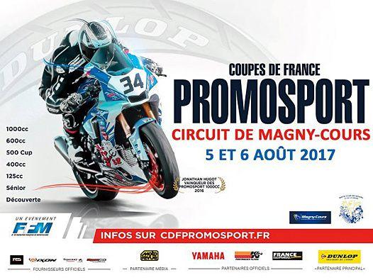 Affiche - Circuit de Magny-Cours - Une épreuve attendu dans le milieu