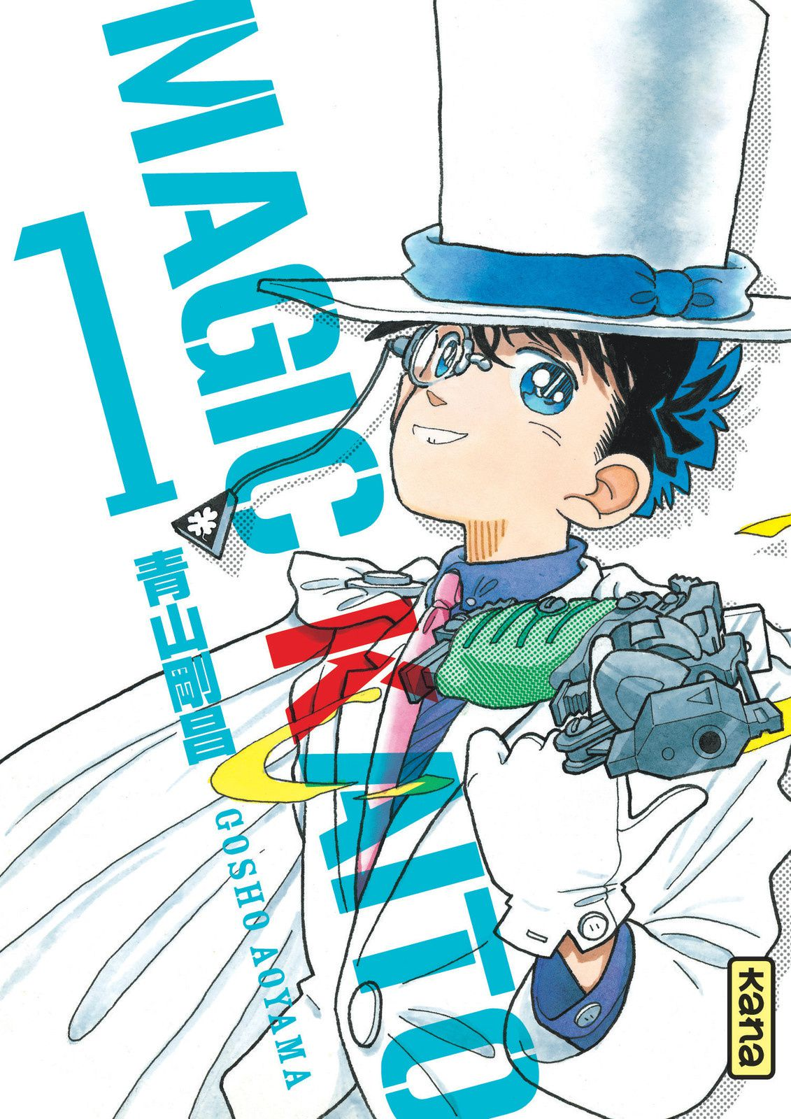 Detective conan tome 77, Letter bee tome 16, Magic Kaitô tome 1, Mon histoire tome 4, Witchcraft works tome 4 chez Kana