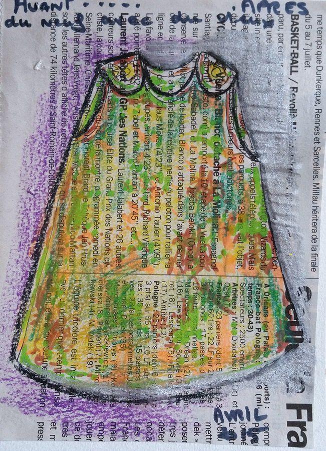 le nouveau dessin avec la petite robe