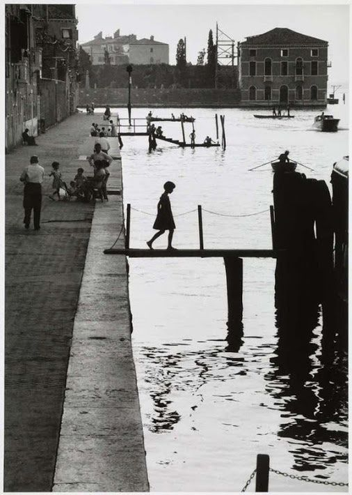 "Willy Ronis "" Fondamenta Nuove Venise "" 1959"