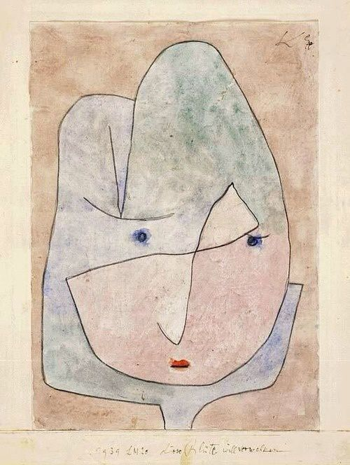 Paul Klee (1879-1940), This Flower Wishes to Fade, 1939