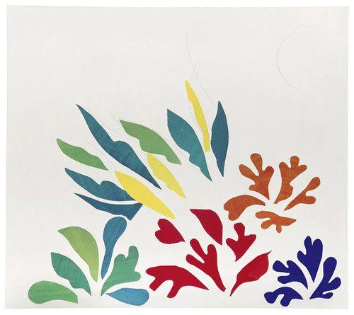 Henri Matisse - Acanthus 1953