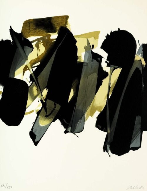 Pierre Soulages, Lithographie no. 14 (1964)