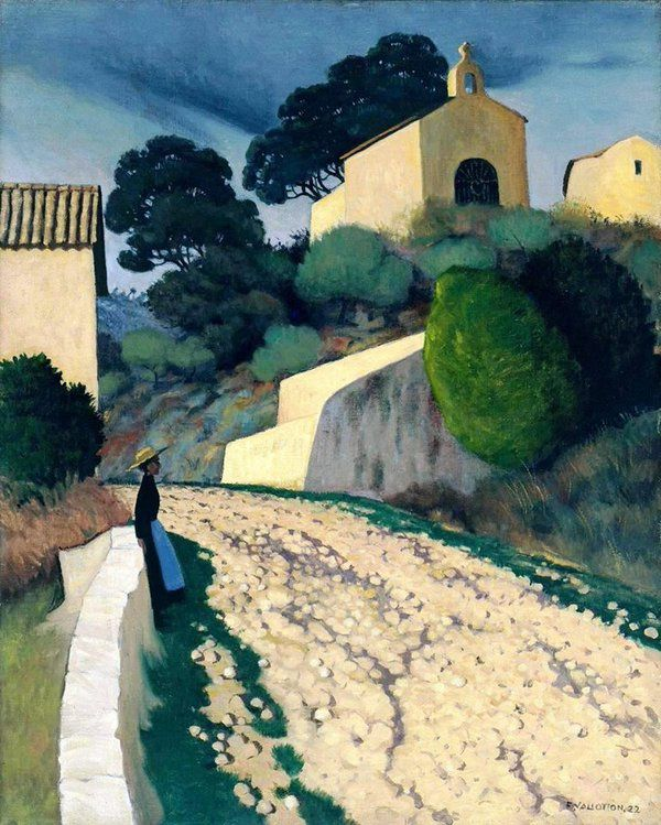 Félix Vallotton (1865–1925), Route à Saint-Paul (Var), 1922