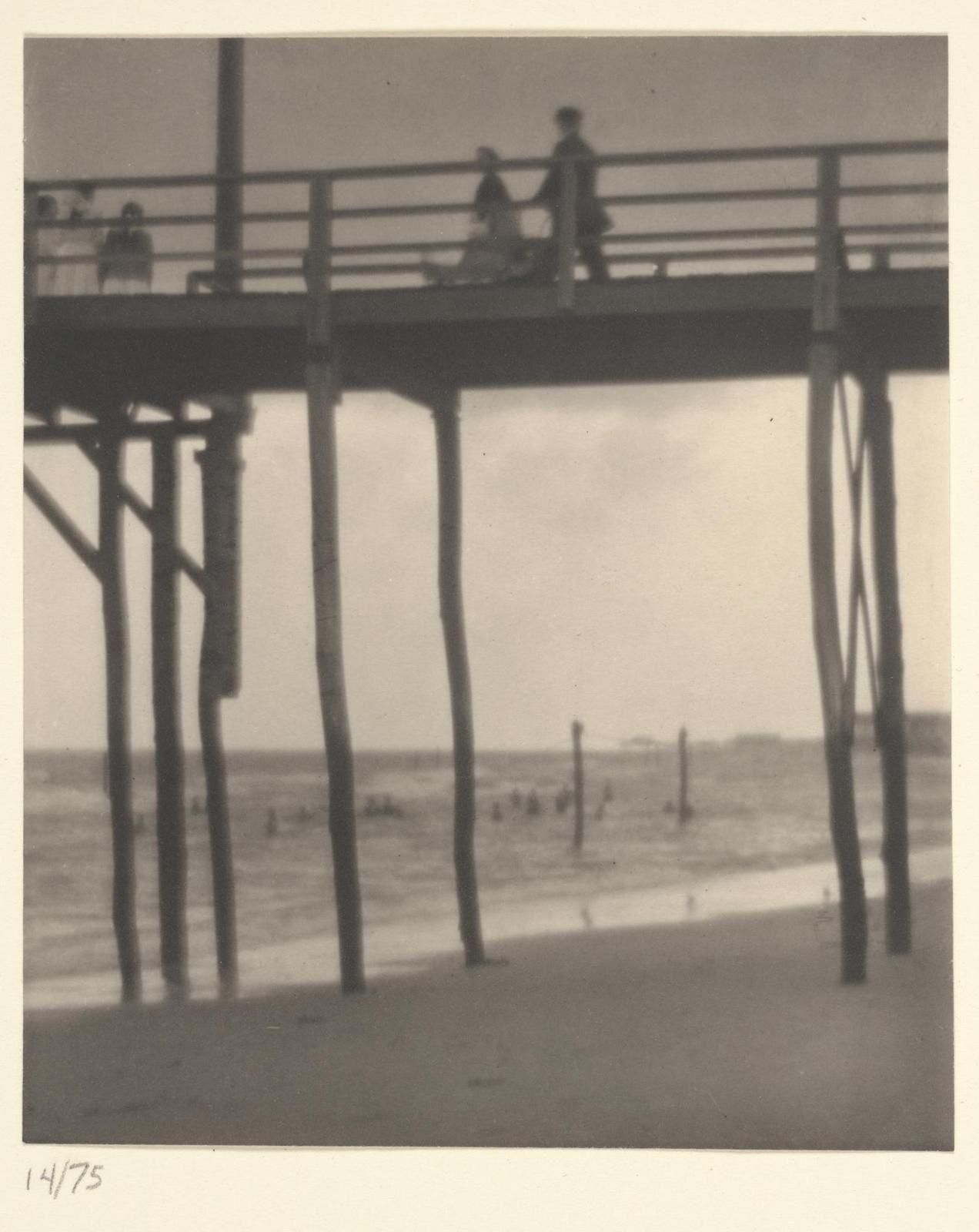 Karl Struss, Arverne, Low Tide, 1912