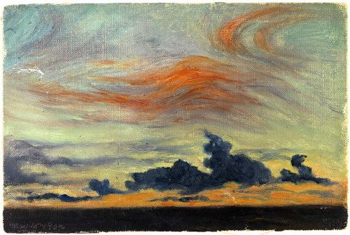 Frank Wilbert Stokes, Equatorial Sunset Clouds