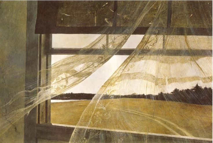 Andrew Wyeth (1917-2009), 'The Wind From The Sea', 1947