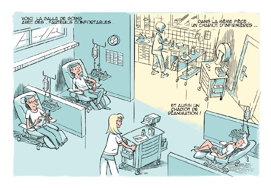 La Cible-BD sur la radiothérapie