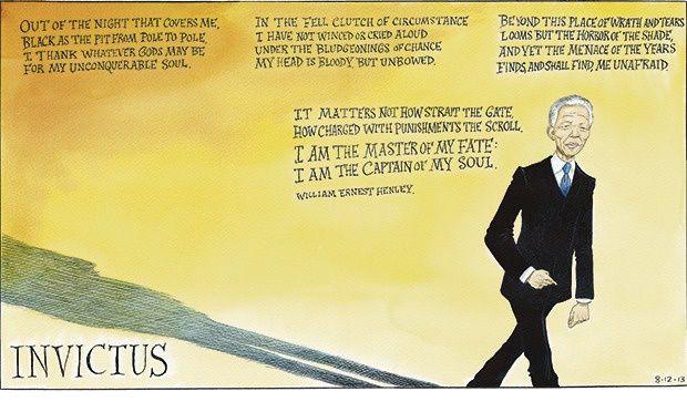 Invincible: Nelson Mandela &#x3B; 1918 - 2013