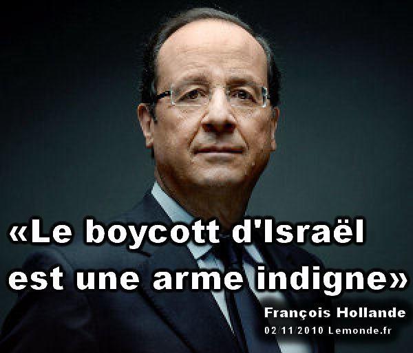 Le « chant d'amour pour Israël » de François Hollande, et ses conséquences