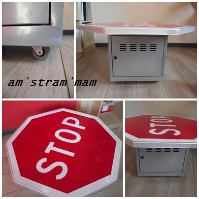 table panneau ! STOP !