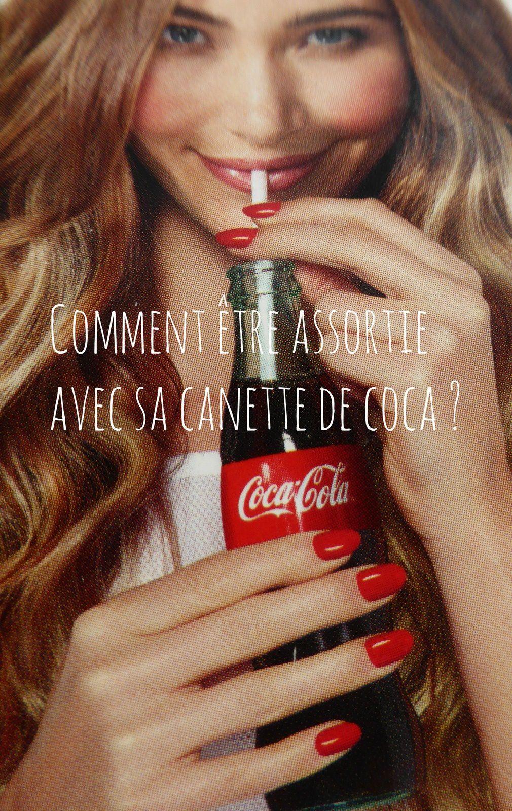 Les vernis OPI feat Coca-Cola !