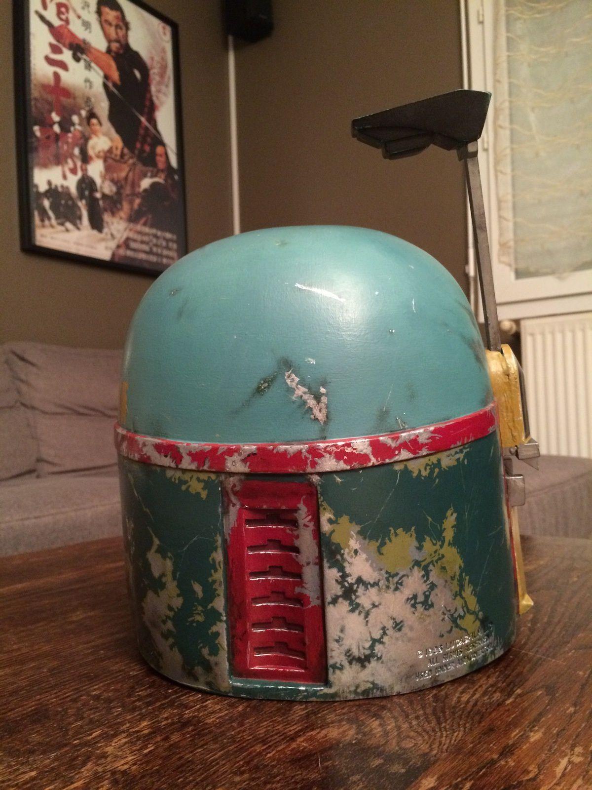 Star Wars Boba Fett helmet repaint (Don Post 95)
