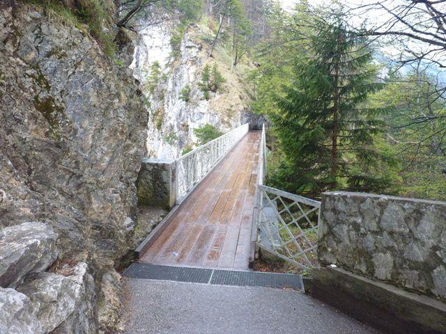 Le pont Marienbrücke.