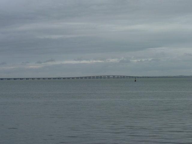 Le pont de Vasco de Gama.