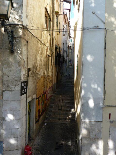 Le vieux Lisbonne.